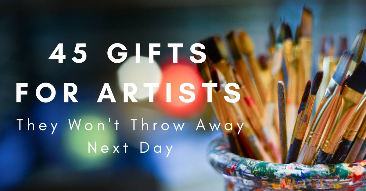 45 Gifts For Artists They Won T Throw Away Next Day Giftpundits