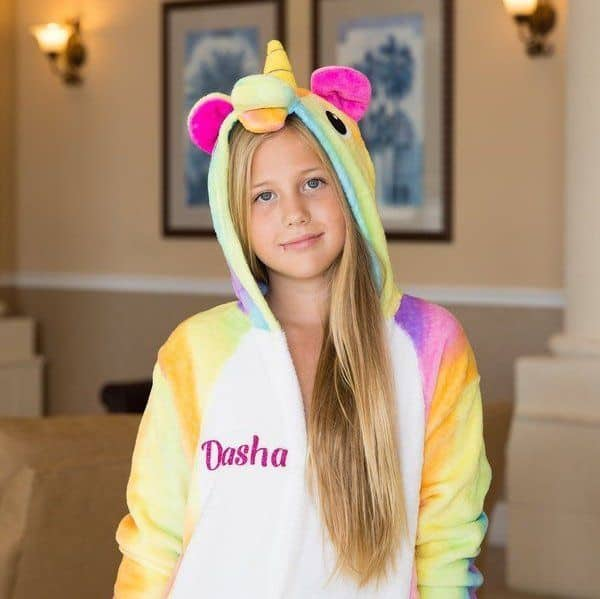 Customized Unicorn Pajamas