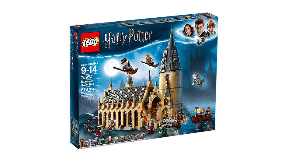 Hogwarts Great Hall Lego