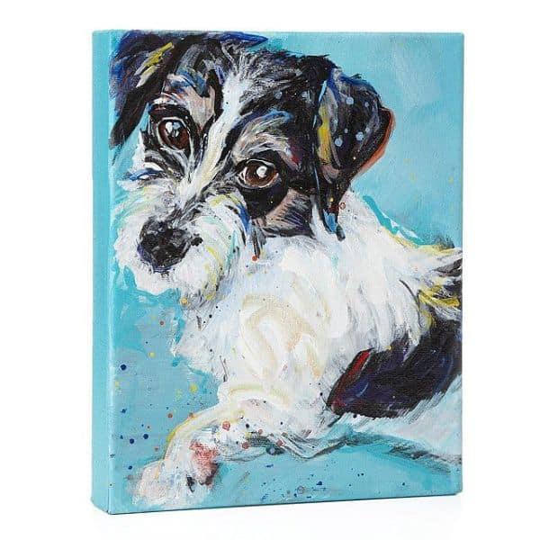 Custom Painterly Pet Portrait