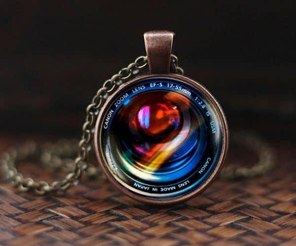 Camera Lenses Pendant