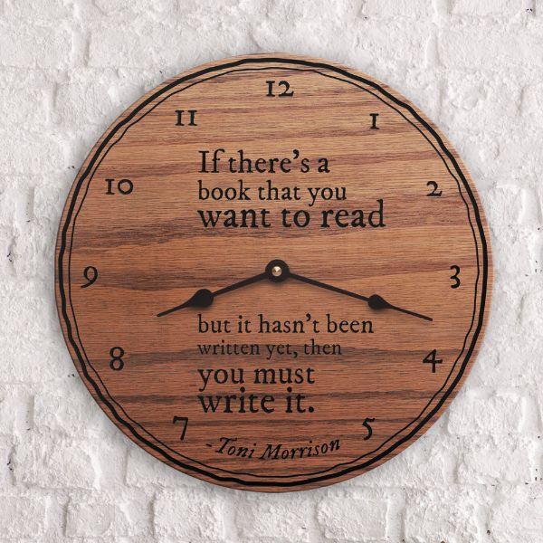 Solid Oak Clock
