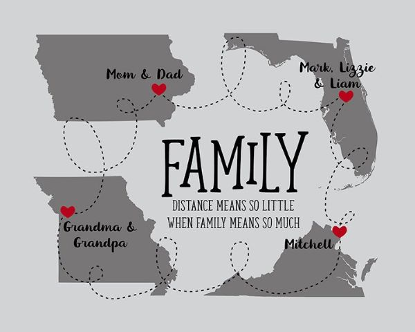 Family Maps